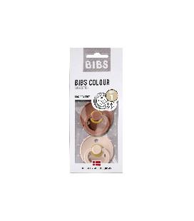 BIBS fopspeen combi woodchuck /blush