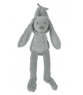 Grey rabbit richie musical muziekknuffel happy horse