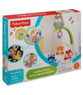 Fisher Price 3 in 1 Woodland mobiel