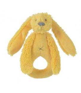 Happy Horse Yellow rabbit richie rattle / geel tutdoek konijn