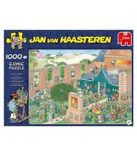 JvH puzzel the art market de kunstmarkt Jan van Haasteren 1000 stukjes