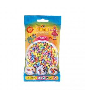 strijkkralen pastelkleuren 1000 stuks Hama