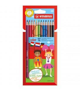 Stabilo kleur potlood 12 stuks