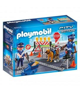 Playmobil politie wegversperring 6924