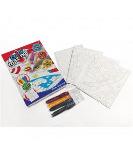 Color mazing assorti  tekeningen maken