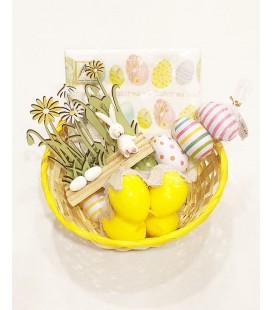 Paas kado mandje  eieren