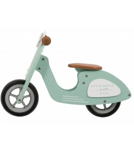 Little Dutch Loopscooter Blauw