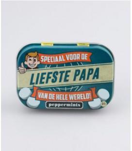 Retro mints -liefste papa