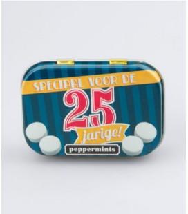 Retro mints - 25 jarige