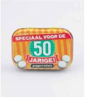 Retro mints - 50 jarige