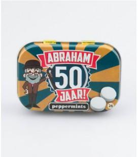 Retro mints - abraham 50 jaar