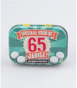 Retro mints - 65 jarige