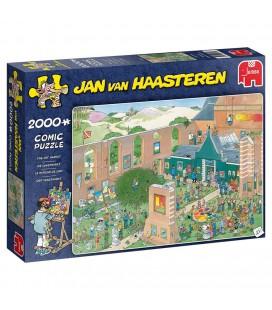 Puzzel Jan van haasteren the art market kunstmarkt 2000