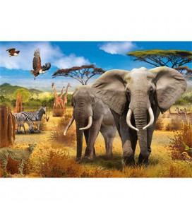 Jumbo puzzel Savannah 500 stukjes