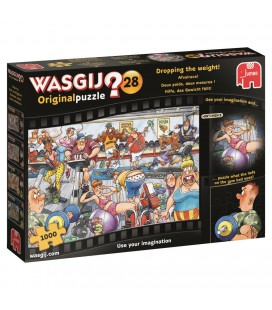 Puzzel Wasgij original 28 afvalrace 1000 stukjes