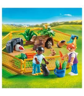 playmobil kinderen met kleine dieren
