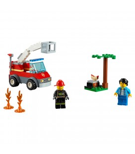 Lego City 60212 barbecue brand blussen