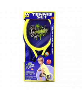 TENNIS SET SUPER POW   folie