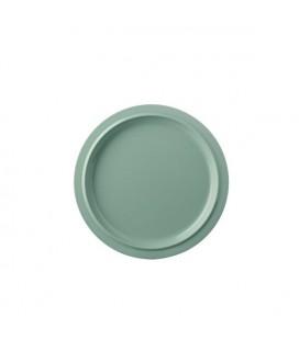 Mepal plat bord basic p250 - retro green Ø 248 x 18