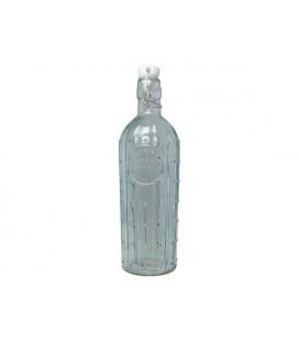 Fles glas m/stop 31,5cm cactus 1 liter