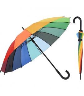 Paraplu regenboog dia 98cm 80cm hoog