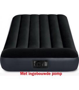 ntex twin pillow rest classic luchtbed met ingebouwde pomp (220-240V) 99x191x25cm
