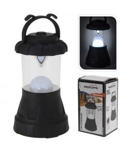 Campinglamp zwart met 11 LED