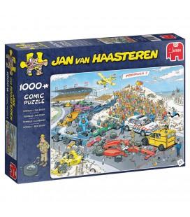PUZZEL JAN VAN HAASTEREN FORMULE 1 DE START 1000 STUKJES