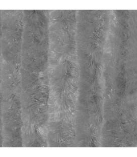 Kattenstaart 90x220 cm grijs uni in zak