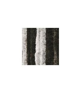 Wicotex kattenstaart 90x220 zwart/grijs duo