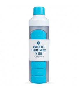 YOS Bottle Weekly - Blauw pillenfles