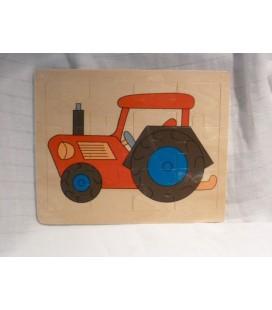 Traktor inlegpuzzel