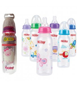 NUBY BABY DRINKFLES 240ML ASS.