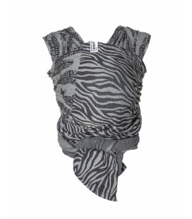 Draagdoek Stretchy Wrap deluxe - Zebra