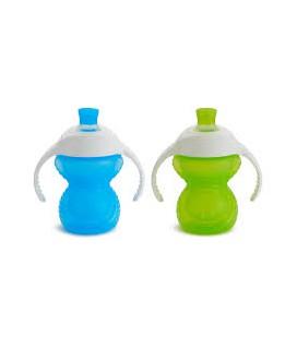 Munchkin Click lock ™ Bite Proof Trainer Cup - blauw/groen