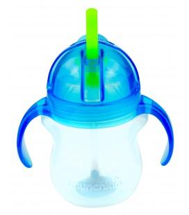 Munchkin Click Lock Tip en Sip straw cup - Blauw /groen 6 maand