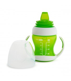 Munchkin Gentle Transition cup - blauw /groen