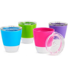 Munchkin Splash ™ peuterbeker  -roze /paars