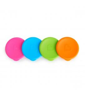 Munchkin miracle cups lids 4 kleuren - deksels