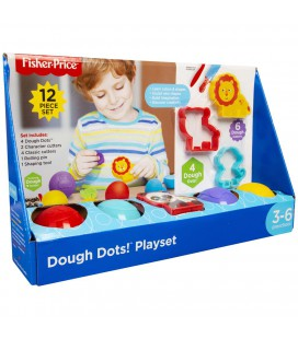 FISHER-PRICE DOUGH 12 DELIGE SET