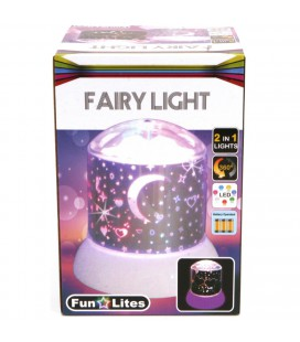 DISCO NACHTLAMP GALAXY WIT