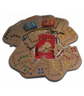 Totaalbox kunststof 2,3,4,5,6,7 en 8 pers en tokkenspel