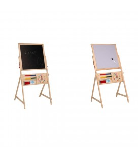 SCHOOLBORD HOUT 2 IN 1