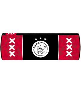 Etui Ajax rood met zwarte baan: 23x9 cm