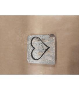 Scrabble symbool  - hartje open