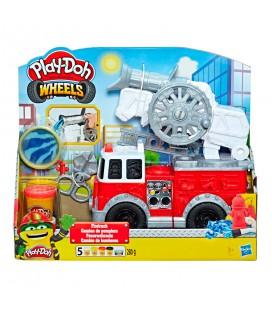 Playdoh Wheels Brandweer wagen