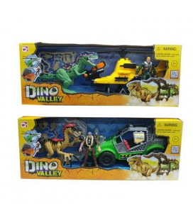 DINO VALLEY ATTACK PLAYSET 2 ASSORTI