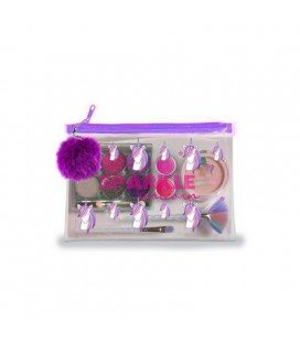 UNICORN SPARKLY MAKE-UP TASJE SET