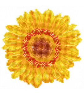 Happy Day Sunflower Diamond Dotz: 20x20 cm