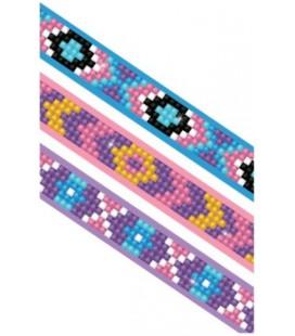 Armbanden Dotzies 3 stuks: Mauves 21x2 cm